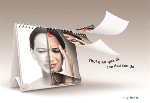Bệnh đau nửa đầu cần được giảm đau và giảm tái phát theo đúng cơ chế gây đau.