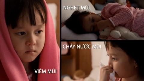 Các triệu chứng điển hình của viêm mũi ở trẻ nhỏ