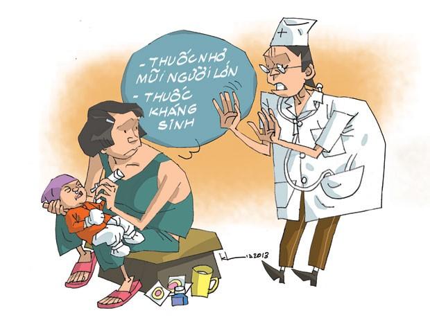Không tự ý sử dụng các loại thuốc nhỏ mũi cho trẻ