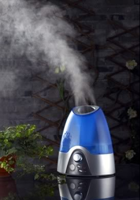 Giữ không khí ẩm tốt cho đường hô hấp của trẻ