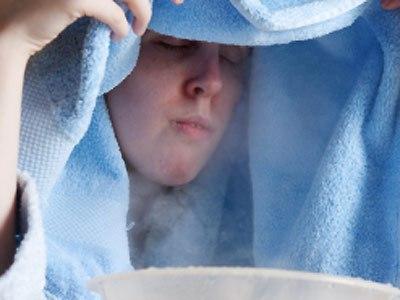 Xông mũi khi bị cúm